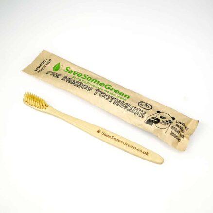 Bamboo Toothbrush Bamboo + Medium