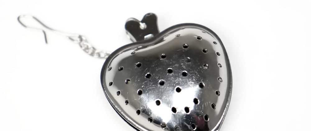 Stainless steel Heart Tea Infuser