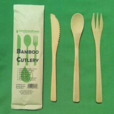 Bamboo Cutlery Adults
