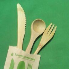 Bamboo Cutlery Kids