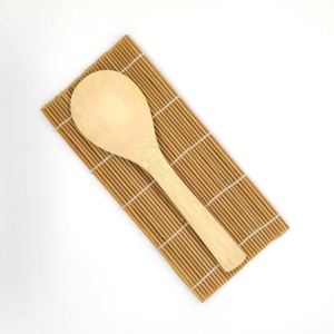Bamboo Sushi Mat and Rice Paddle