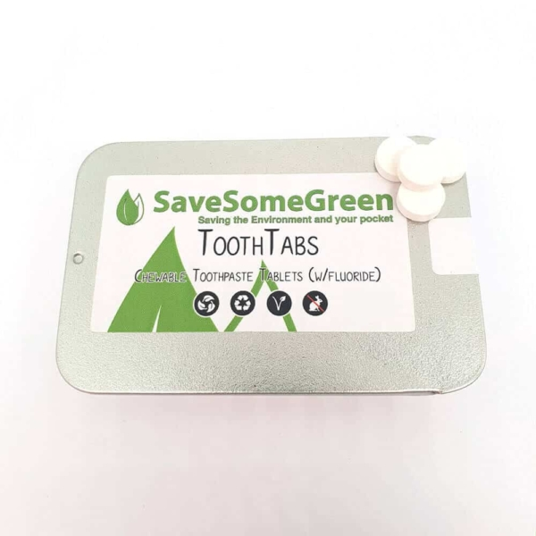 Save Some Green Toothtabs (With Fluoride)