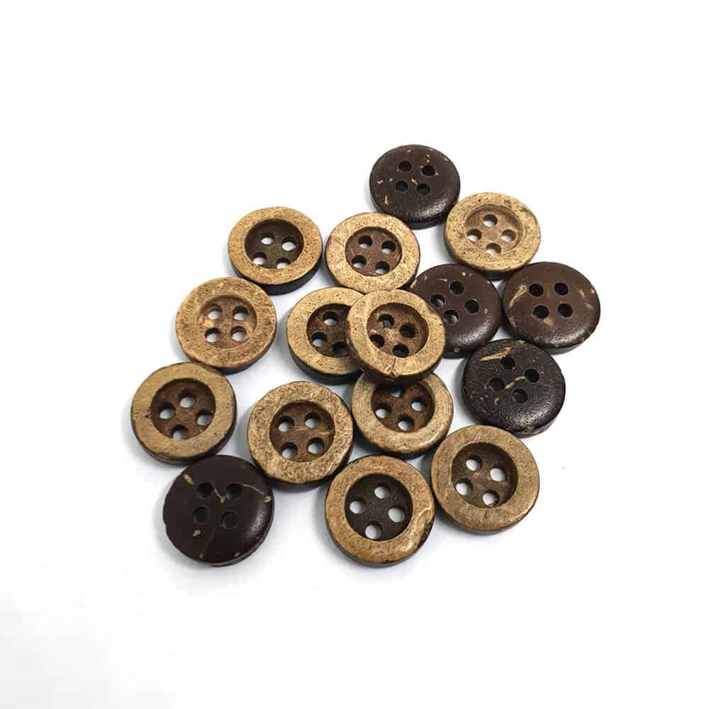 10mm Small Dimple Coconut Button