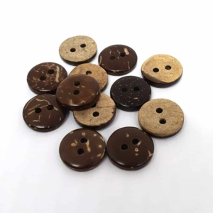 12mm Round Coconut button