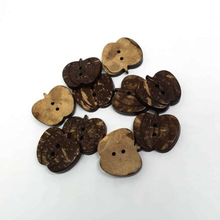 20mm Apple Coconut Button