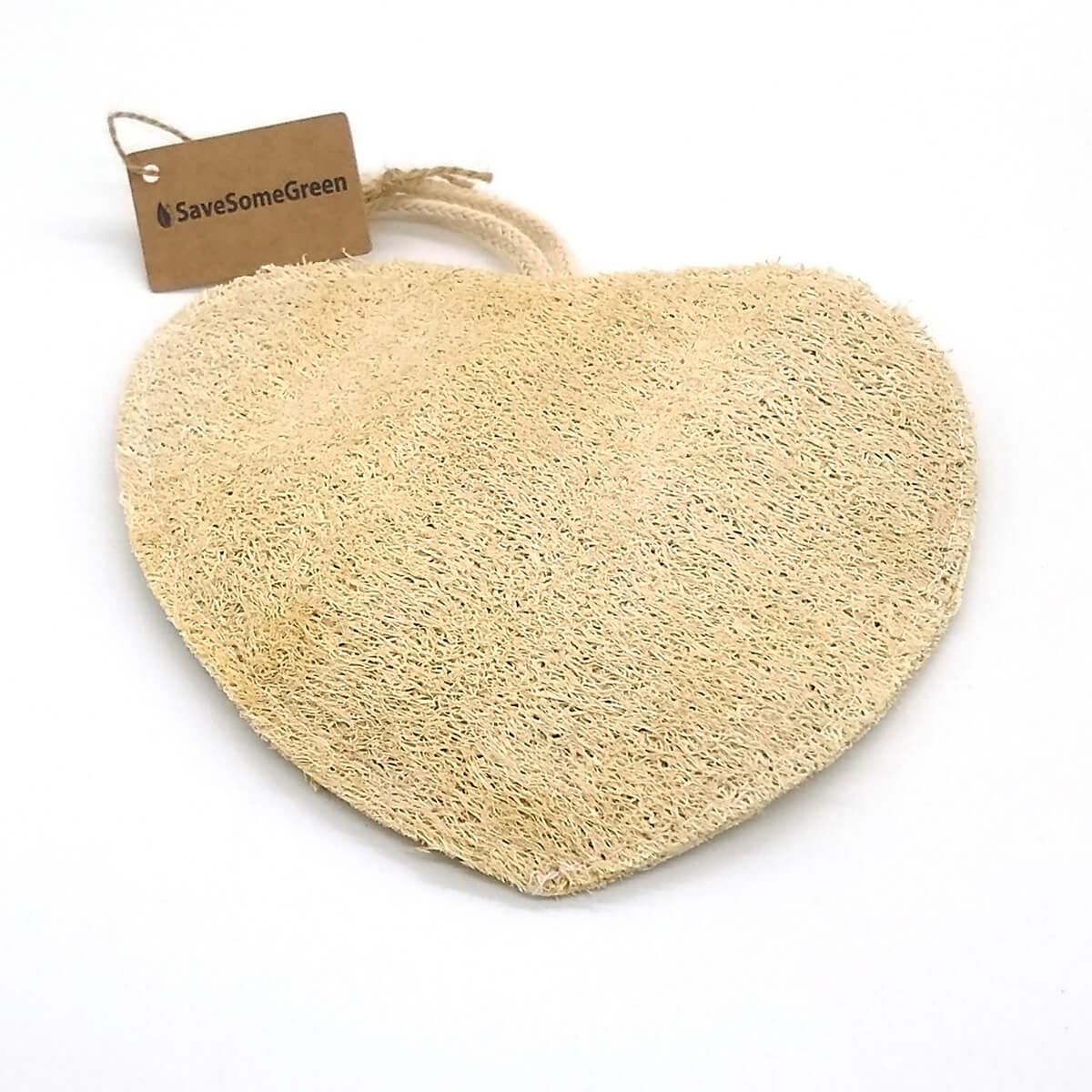 Heart Loofah Scrubby
